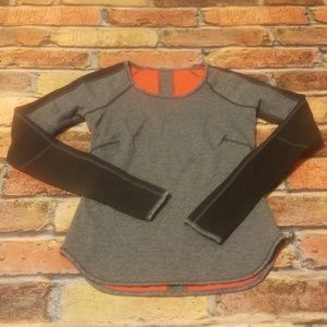 Reversable lululemon long sleeved top.
